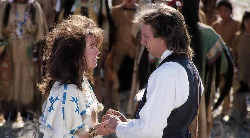 "Mary McDonnell, Kevin Costner | ""Dances with Wolves"" (1990) *"