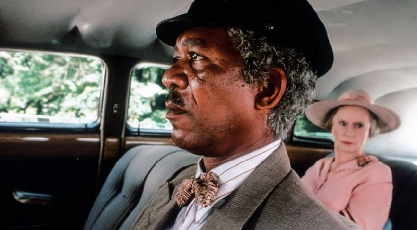 "Morgan Freeman, Jessica Tandy | ""Driving Miss Daisy"" (1989)"