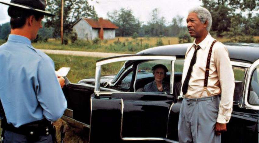 "Ray McKinnon,  Jessica Tandy, Morgan Freeman | ""Driving Miss Daisy"" (1989)"