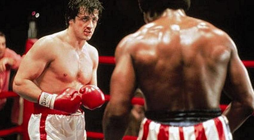 "Sylvester Stallone, Carl Weathers | ""Rocky"" (1976)"