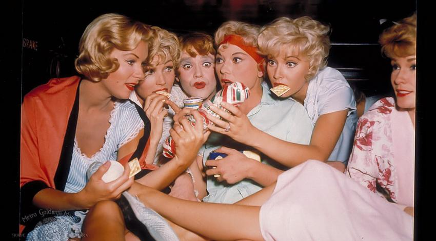 "Jack Lemmon, Marian Collier, Barbara Drew, Grace Lee Whitney, Beverly Wills | ""Some Like It Hot"" (1959) *"