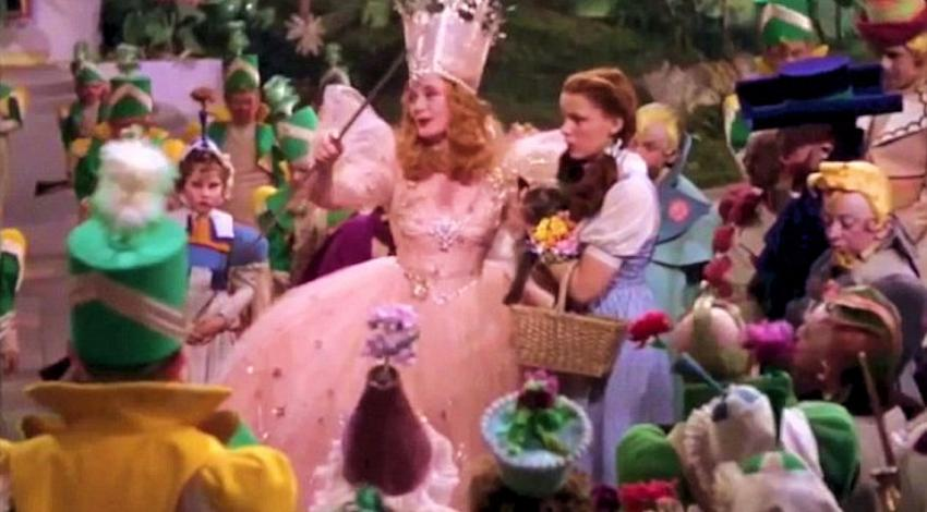 "Billie Burke, Judy Garland | ""The Wizard Oz"" (1939)"