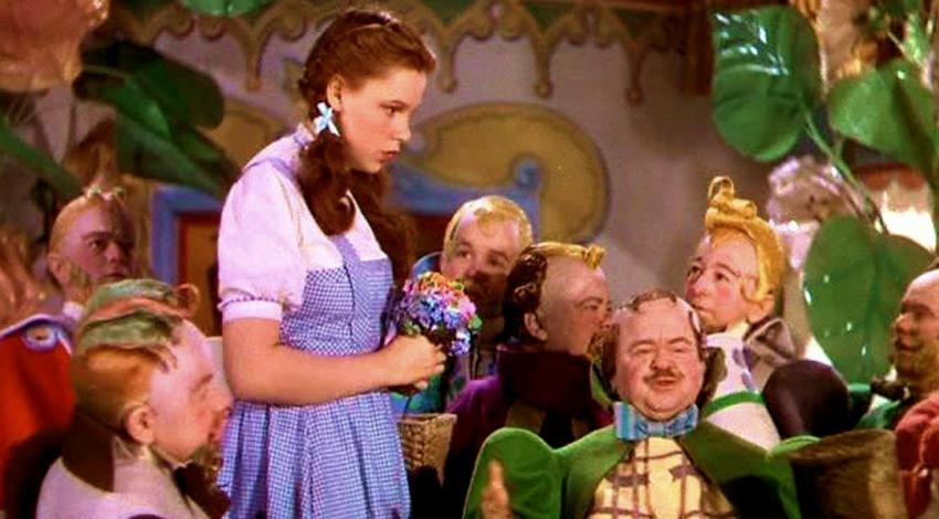 "Judy Garland, & Munchkins | ""The Wizard Oz"" (1939)"